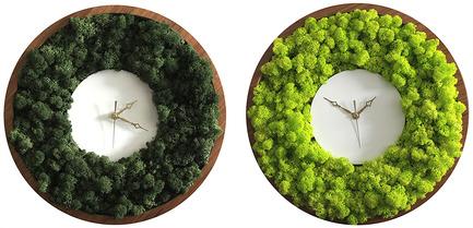 Dossier de presse | 2141-01 - Communiqué de presse | Objetik:Boutique. Design. Québec. - Objetik - Design industriel - Horloge Lichen - Crédit photo : Anastrophe