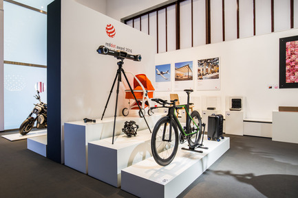 "Press kit | 1696-14 - Press release | Last chance to enter – Red Dot Award: Product Design 2017 closing date for entries is 8 February - Red Dot Award - Competition - Winners' exhibition ""Design on Stage"" in the Red Dot Design Museum. - Photo credit: Red Dot"