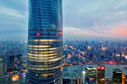 Press kit | 1968-03 - Press release | The Architecture MasterPrize Announced the Firm of the Year Award - Architecture MasterPrize - Commercial Interior Design - Shanghai Tower by Gensler - Photo credit: Blackstation