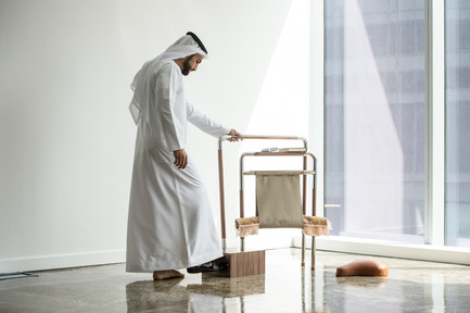 Press kit | 1834-11 - Press release | Design Days Dubai Announces 2017 Edition - Dubai Design Week - Event + Exhibition -  The Sanctuary designed by Ayah Bitar - Photo credit:  Image Courtesy of Ayah Bitar (UAE)<br>