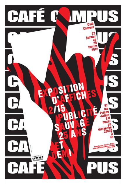 Press kit | 748-07 - Press release | À voir cet été : l'exposition 16 affichistes célèbrent Publicité Sauvage conçue et réalisée par le Centre de design de l'UQAM et Publicité Sauvage - Centre de design de l'UQAM - Évènement + Exposition - Stéphane Huot