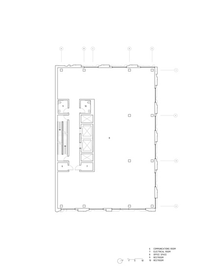 Dossier de presse | 2045-01 - Communiqué de presse | Batay-Csorba Architects Reimagines the Precast Concrete Building in Toronto - Batay-Csorba Architects - Commercial Architecture - Typical Floor Plan - Crédit photo : Batay-Csorba Architects