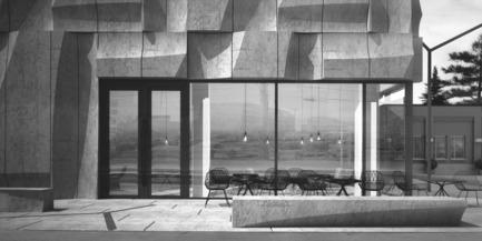 Dossier de presse | 2045-01 - Communiqué de presse | Batay-Csorba Architects Reimagines the Precast Concrete Building in Toronto - Batay-Csorba Architects - Commercial Architecture - Retail Space - Crédit photo : Batay-Csorba Architects