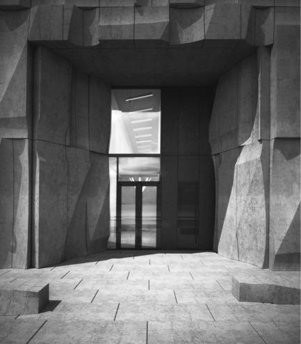 Dossier de presse | 2045-01 - Communiqué de presse | Batay-Csorba Architects Reimagines the Precast Concrete Building in Toronto - Batay-Csorba Architects - Commercial Architecture - Main Entry - Crédit photo : Batay-Csorba Architects