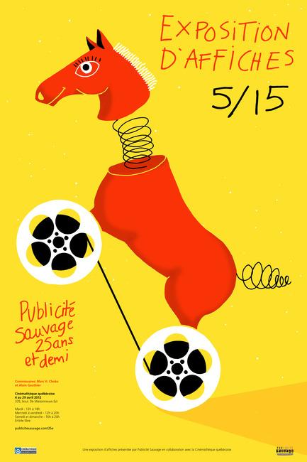 Press kit | 748-07 - Press release | À voir cet été : l'exposition 16 affichistes célèbrent Publicité Sauvage conçue et réalisée par le Centre de design de l'UQAM et Publicité Sauvage - Centre de design de l'UQAM - Évènement + Exposition - Charlotte Demers-Labrecque