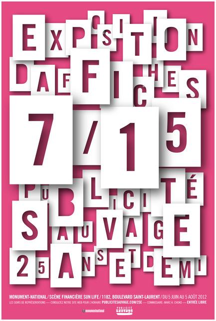 Press kit | 748-07 - Press release | À voir cet été : l'exposition 16 affichistes célèbrent Publicité Sauvage conçue et réalisée par le Centre de design de l'UQAM et Publicité Sauvage - Centre de design de l'UQAM - Évènement + Exposition - Sébastien Martineau