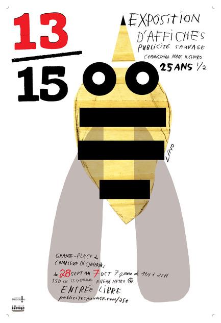Press kit | 748-07 - Press release | À voir cet été : l'exposition 16 affichistes célèbrent Publicité Sauvage conçue et réalisée par le Centre de design de l'UQAM et Publicité Sauvage - Centre de design de l'UQAM - Évènement + Exposition - Lino