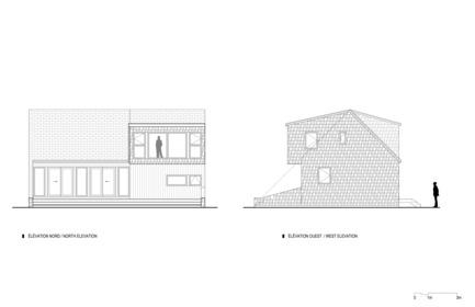Press kit | 1527-05 - Press release | Résidence Dune de l'Ouest - Bourgeois / Lechasseur architectes - Residential Architecture - Photo credit: Bourgeois / Lechasseur architects