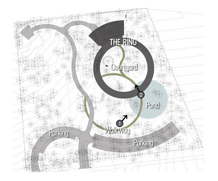Press kit | 1249-01 - Press release | The Wangari Muta Maathai House - Boogertman + Partners Architects - Institutional Architecture - Wangari Muta Maathai House - Site Plan - Photo credit: Boogertman + Partners Architects
