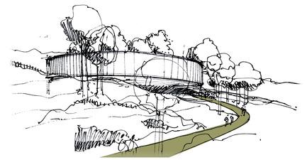 Press kit | 1249-01 - Press release | The Wangari Muta Maathai House - Boogertman + Partners Architects - Institutional Architecture - Wangari Muta Maathai House - Sketch 3 - Photo credit: Boogertman + Partners Architects