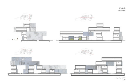 Dossier de presse | 880-03 - Communiqué de presse | Taichung City Cultural Center Competition entry - MU Architecture - Concours - Crédit photo : MU Architecture