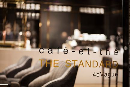 Press kit | 760-13 - Press release | The Standard Café - Jean de Lessard, Designers Créatifs - Commercial Interior Design - Photo credit: Adrien Williams