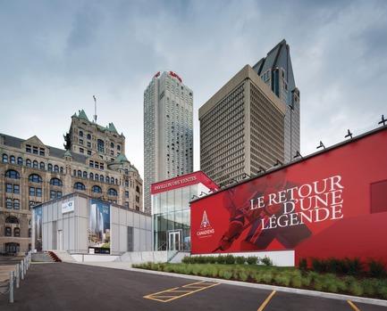 Press kit | 673-17 - Press release | Les lauréats de la 10e édition des GRANDS PRIX DU DESIGN sont… - Agence PID - Évènement + Exposition -         PRIX APPARTEMENT OU MAISON TÉMOIN ET BUREAU DE VENTE <br>Tour des Canadiens 2 <br>HUMÀ design + architecture - Photo credit: Stephane Brugger