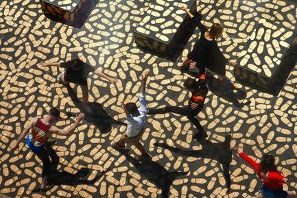 Press kit | 673-17 - Press release | Les lauréats de la 10e édition des GRANDS PRIX DU DESIGN sont… - Agence PID - Évènement + Exposition -         PRIX EXPOSITION, DESIGN ÉVÉNEMENTIEL ET INSTALLATION ÉPHÉMÈRE EX ÆQUO <br>DANCE FLOOR <br>Jean Verville architecte - Photo credit: Maxime Brouillet