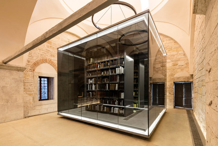 Press kit | 1124-13 - Press release | World Interiors News Awards Ceremony 2016 - World Interiors News - Commercial Interior Design - WINNER: PUBLIC SECTOR<br>Beyazıt State Library by Tabanlioğlu Architects<br><br>Beyazıt State Library is the oldest and the largest library in Istanbul. The Library can be found in Beyazıt Square, the most vibrant space in the old part of the city. The jury were particularly impressed with the sensitive reorganization of the interior.<br><br>JUDGES' COMMENT<br>'Fantastic adaptive reuse with contemporary installations highlighting the aesthetics of a heritage framework. Elegant, minimalistic and beautifully realised. The lighting design is truly commendable.'<br> - Photo credit: Tabanlioğlu Architects<br>