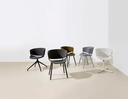 Dossier de presse | 1165-07 - Communiqué de presse | New Design Products from Offecct - Offecct - Product - The new chair Phoenix by Luca Nichetto - Crédit photo : Offecct