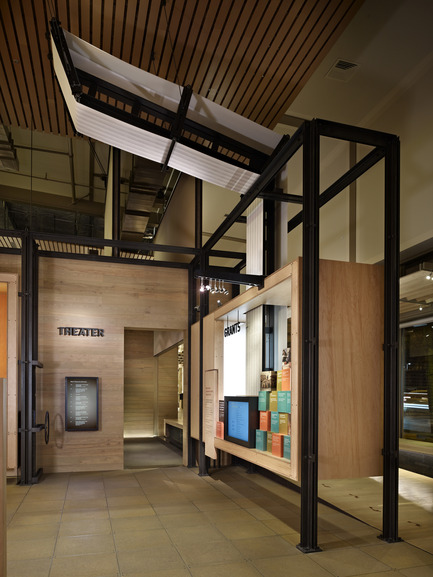 Dossier de presse | 1080-02 - Communiqué de presse | International Awards shortlist announced - INSIDE: World Festival of Interiors - Competition - Bill & Melinda Gates Foundation Visitor Center, United States of America<br>by Olson Kundig Architects