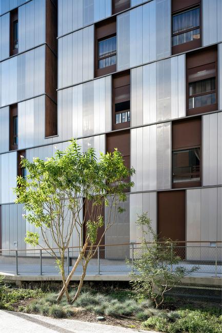 Dossier de presse | 2382-01 - Communiqué de presse | Résidence étudiante« les muses » - Gardera-D Architecture - Architecture résidentielle - Crédit photo : Jean François Tremege