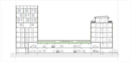 Dossier de presse | 2382-01 - Communiqué de presse | Résidence étudiante« les muses » - Gardera-D Architecture - Architecture résidentielle - Crédit photo : Gardera-D Architecture