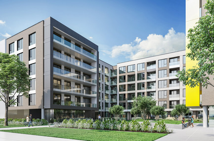 Press kit | 2056-05 - Press release | DevMcGill and TGTA Unveil the Design of the All-New Ateliers Castelnau Condominium Project, in the Heart of Mile-Ex - DevMcGill & TGTA - Real Estate - Ateliers Castelnau - Photo credit: DevMcGill
