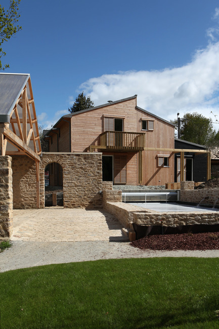 Press kit | 949-04 - Press release | A bioclimatic house in Auray, Brittany - Patrice Bideau - Residential Architecture - Photo credit: Armel Istin