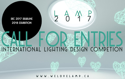 Press kit | 1895-06 - Press release | Call for Entries: L A M P's 2017 Lighting Design Competition - L A M P (Lighting Architecture Movement Project) - Competition - Photo credit: L A M P