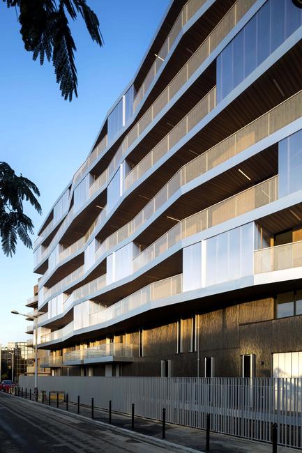 Press kit | 2372-01 - Press release | Résidence de l'Aqueduc in Gentilly / France - Daquin & Ferrière Architecture - Residential Architecture - Residence de l'Aqueduc - Gentilly / France <br>DAQUIN & FERRIERE ARCHITECTURE <br>  - Photo credit: Hervé Abbadie
