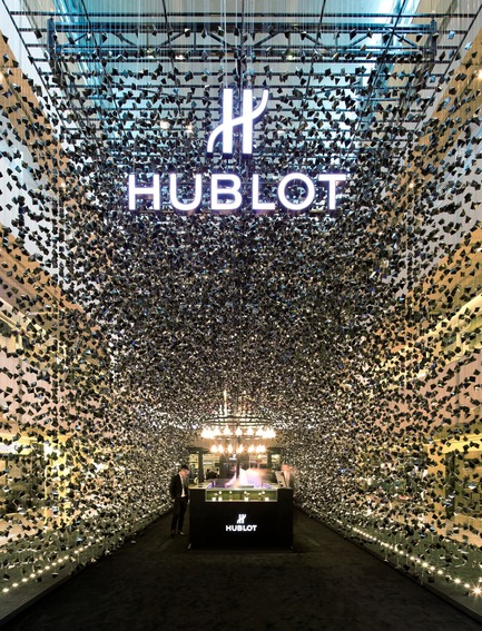 Dossier de presse | 1080-02 - Communiqué de presse | International Awards shortlist announced - INSIDE: World Festival of Interiors - Competition - Hublot Pop-Up Store, Singapore, Republic of<br>by Asylum Creative Pte Ltd