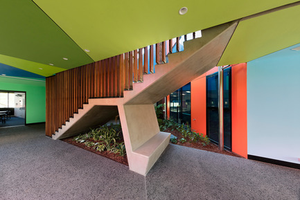 Press kit | 2259-02 - Press release | Ivanhoe Grammar Senior Years & ScienceCentre - McBride Charles Ryan - Institutional Architecture - Main Staircase - Photo credit: John Gollings