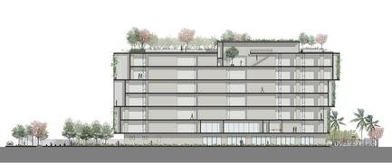 Dossier de presse | 2346-01 - Communiqué de presse | Sustainable Otunba Offices Receives Commendation in AR Future Projects Awards - Domaine Public Architects - Commercial Architecture - Section - Crédit photo : Domaine Public Architects