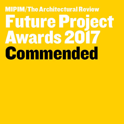 Press kit | 2346-01 - Press release | Sustainable Otunba Offices Receives Commendation in AR Future Projects Awards - Domaine Public Architects - Commercial Architecture - MIPIM Future Project Awards 2017 - Photo credit: Mipim/Architectural Review
