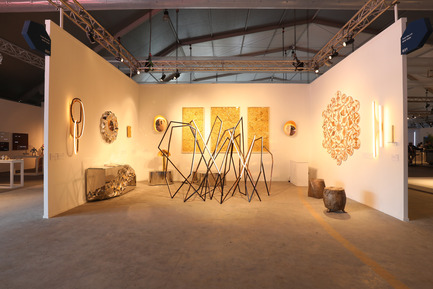 Press kit | 1834-13 - Press release | Design Days Dubai Completes its Sixth and Most Successful Edition in its New Location, d3 - Design Days Dubai - Event + Exhibition - DDD2017_Todd Merrill Booth (empty) - Photo credit: Image Courtesy of Design Days Dubai