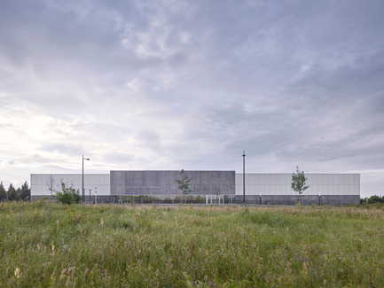 Press kit | 1040-05 - Press release | Sports Complex in Bussy Saint-Georges - Martin Duplantier Architectes - Institutional Architecture -  Overview   - Photo credit:   Yohan ZERDOUN