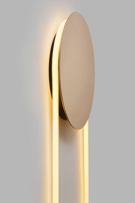 Press kit | 2375-01 - Press release | D'Armes Luminaires Exhibit at SBODIO32 During Milan Design Week - d'Armes Luminaires - Lighting Design - RA Wall - Photo credit: Jean-Sébastien Senécal
