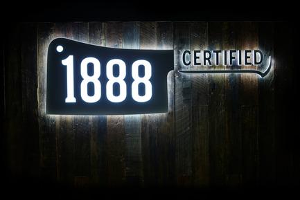 Press kit | 2395-01 - Press release | TomMarkHenry's Award-winning Design for 1888 Certified - Tom Mark Henry - Commercial Interior Design -  1888 Certified designed by TomMarkHenry  - Photo credit:  Damian Bennett
