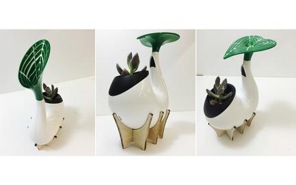 Press kit | 2493-01 - Press release | Sprout - SHIYU GUO - Industrial Design - Model - Photo credit: Raymond (Shiyu Guo)