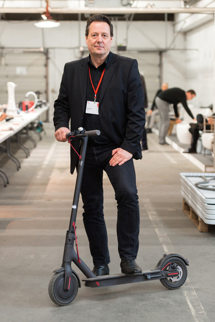 Press kit | 1696-15 - Press release | The Red Dot Jury Has Made Its Decision: These Are the Best Products of the Year - Red Dot Award - Competition - Red Dot juror Nils Toft<br> - Photo credit: Red Dot