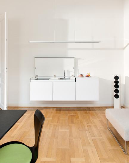 Dossier de presse | 2443-01 - Communiqué de presse | miniki slimline - miniki - Industrial Design - miniki slimline modules sl1, sl3 open - Crédit photo :  Michael Jaeger<br>