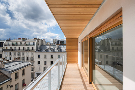 Dossier de presse | 2388-01 - Communiqué de presse | LESS - L'amplificateur urbain - AAVP ARCHITECTURE - Architecture résidentielle - Loggia - Crédit photo : © Luc Boegly