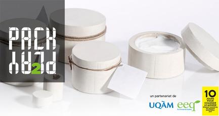 Press kit | 2181-07 - Press release | Packplay 2 International Competition - École de design de l'UQAM | Éco Entreprises Québec (ÉEQ) - Industrial Design - Photo credit: Éco Entreprises Québec / École de design&nbsp; de l'UQAM<br>