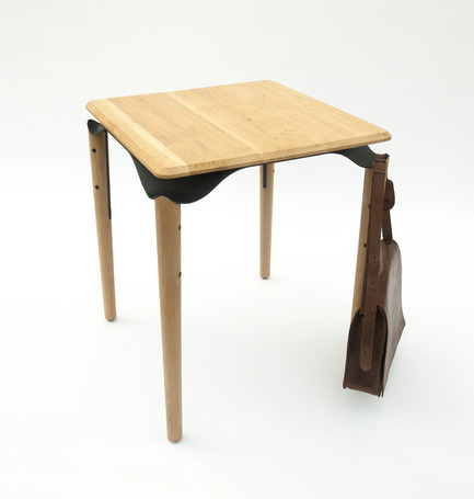 Press kit | 2425-01 - Press release | Trapesi - The Bistro Table Reimagined - Phebos Xenakis - Industrial Design - Trapesi-2 - Photo credit: Nathan Devreese