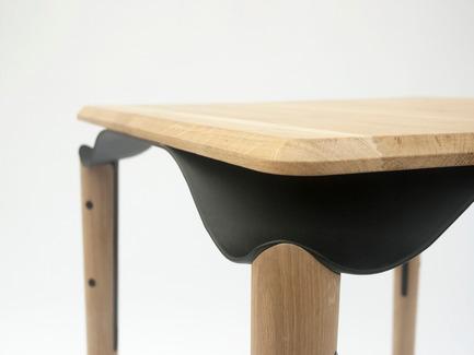 Press kit | 2425-01 - Press release | Trapesi - The Bistro Table Reimagined - Phebos Xenakis - Industrial Design - Trapesi-3 - Photo credit: Nathan Devreese