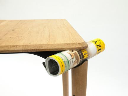 Press kit | 2425-01 - Press release | Trapesi - The Bistro Table Reimagined - Phebos Xenakis - Industrial Design - Trapesi-8 - Photo credit: Nathan Devreese