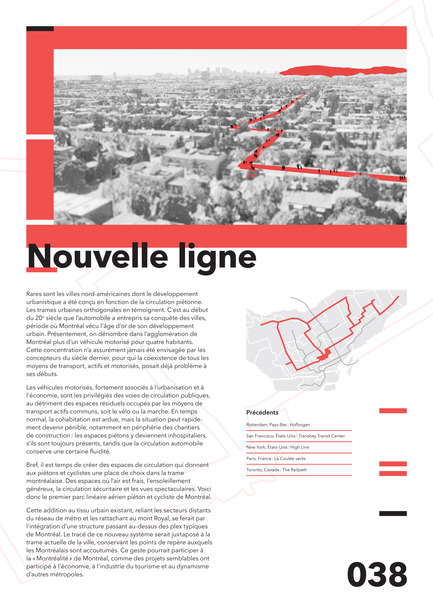 Press kit | 2511-01 - Press release | Proposals and Winners of the 2017 Morph.o.polis Call for Ideas - Morph.o.polis - Competition - Nouvelle ligne - Photo credit: Vincent Bilodeau, Thomas-Antoine Boucher, Chloé Wong