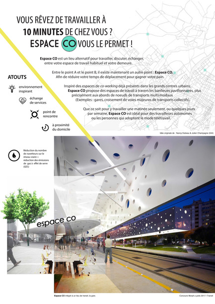 Press kit | 2511-01 - Press release | Proposals and Winners of the 2017 Morph.o.polis Call for Ideas - Morph.o.polis - Competition - EspaceCO - Photo credit: Nancy Dubeau, Julien Champagne
