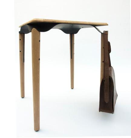 Press kit | 2425-01 - Press release | Trapesi - The Bistro Table Reimagined - Phebos Xenakis - Industrial Design - Photo credit: Nathan Devreese