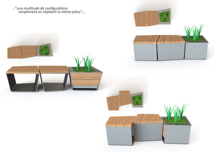 Press kit | 821-03 - Press release | The EXA Collection: An Outside-the-Box Approach to the Modular Cube - Equiparc / Marc BoudreauDesigner - Product - Marc Boudreau, Design industriel - Photo credit: Marc Boudreau