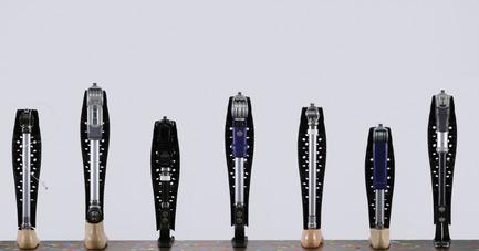 Press kit | 2467-01 - Press release | Confetti Prosthetic Leg Cover - Furf Design Studio - Product - One Confetti fits most. - Photo credit: Furf Design Studio