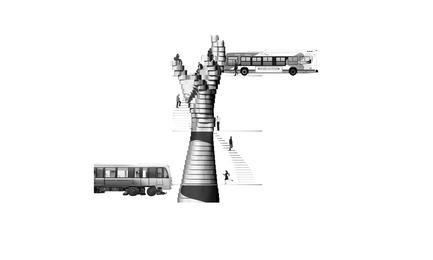 Dossier de presse | 2511-01 - Communiqué de presse | Les propositions et lauréats de l'édition 2017 du concours d'idées Morph.o.polis - Morph.o.polis - Concours - Metro for Humanity - Crédit photo : Akil Grunau, Maxime Leblanc