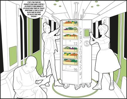 Dossier de presse | 2511-01 - Communiqué de presse | Les propositions et lauréats de l'édition 2017 du concours d'idées Morph.o.polis - Morph.o.polis - Concours - Wagon Vert - Crédit photo : Paul Chevalier, Claire Peyrot